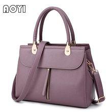 AOYI Fashion Women Luxury Handbag PU Leather Top-handle Shoulder Crossbody Bags Ladies OL Bag Designer Famous Brand Zipper Decor //Price: $US $21.83 & FREE Shipping //     #hashtag1
