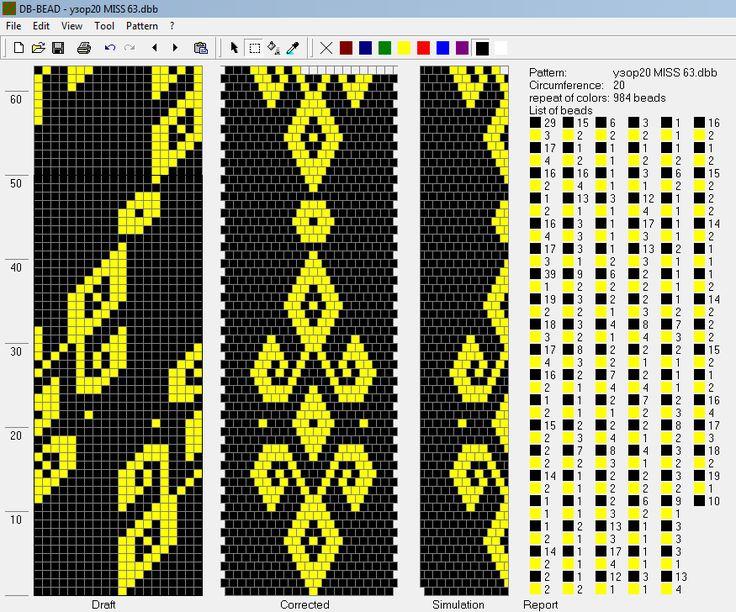 53 knitting scheme bundles 19-20 beads