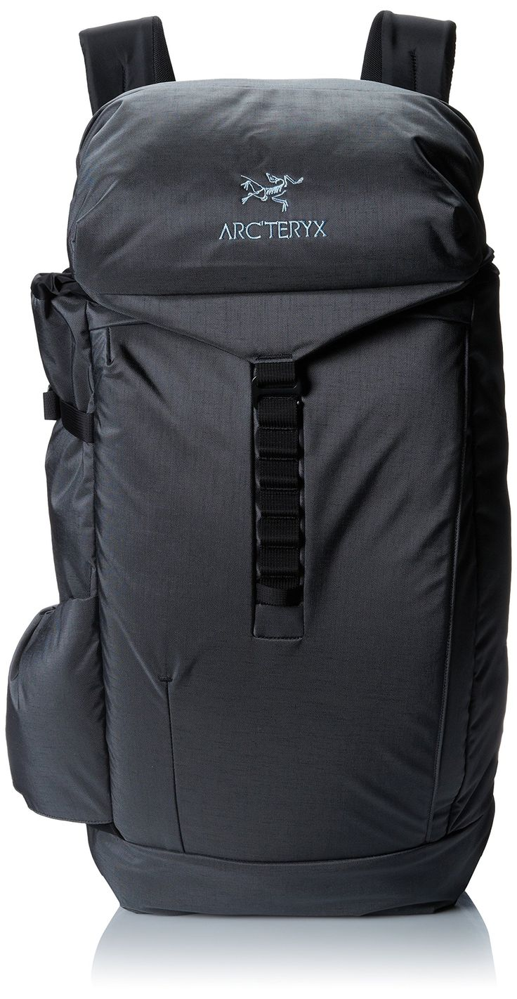 """Arcteryx Jericho Backpack Iron Anvil One Size. Digital device carry options: Padded internal compartment carries 15"""" laptops, access from the top or the side for easy airport security checks, second eXternal, padded compartment for 13"""" or smaller laptops/tablets. Top loader, lid pocket, small security pocket. Ladder closure, removable waist belt. Padded back panel adds comfort. Padded top handle integrated in the shoulder strap."""