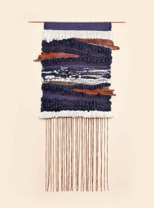 woven wall hanging by brook & lyn