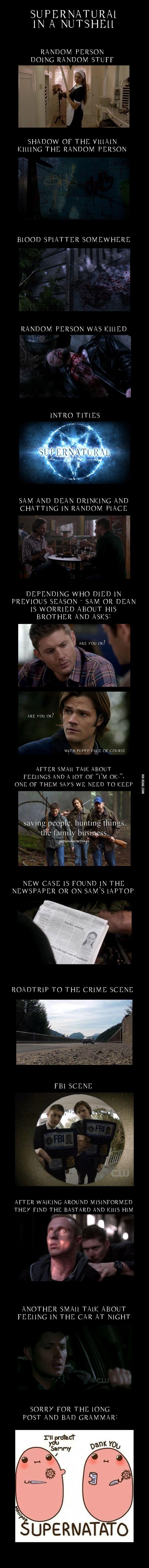 Supernatural is like deja vu after 10 seasons  Will still watch every show.