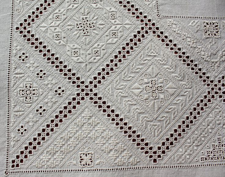 Lefkara embroidery ~ by Joke Bosman