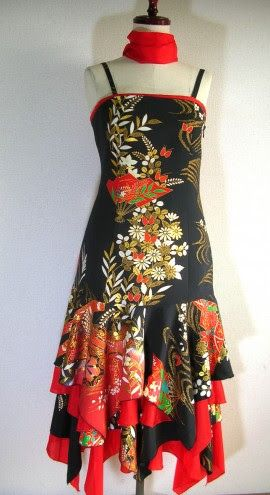 着物 リメイク ドレス - Google 検索