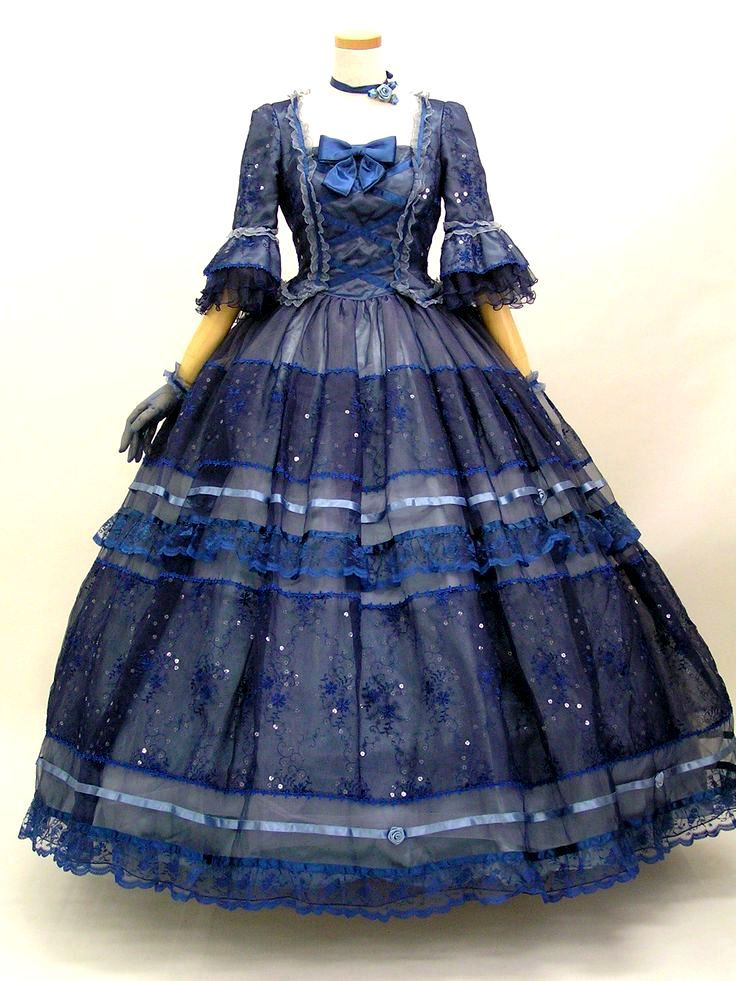 Historical Blue Gown