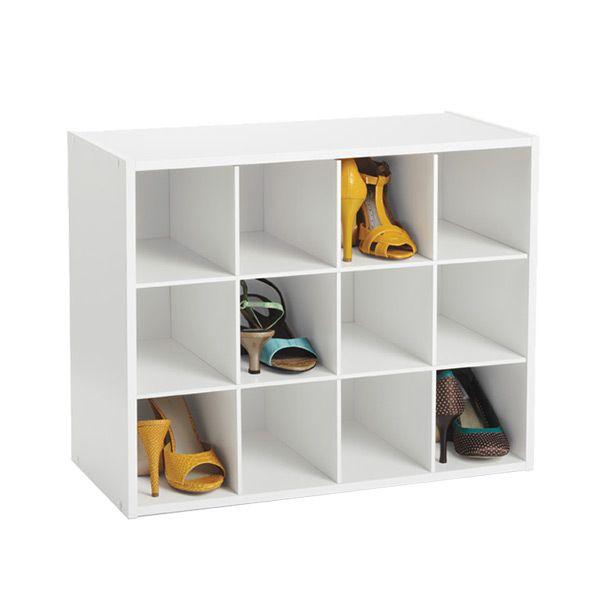 12 Pair Shoe Organizer