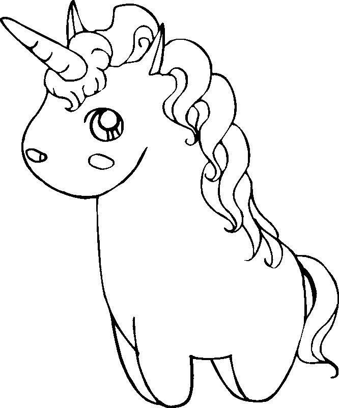 Cute Unicorn coloring page from Unicorn category Select from 30508 printable crafts of cartoons nature animals Bible and many more
