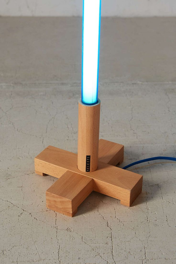 Neon Tube Light Stand