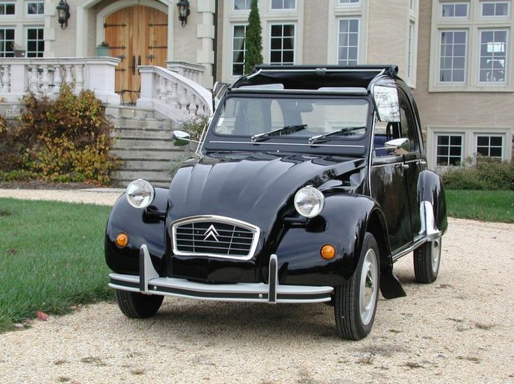 1990 Citroen 2CV Extremely rare factory original black 2CV. Citroen never…