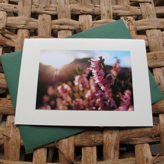 Photo greeting card. Heather 1. Large photo greeting by Saraphir