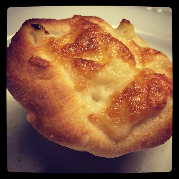 muffin di pizza cavolfiore & mozzarella