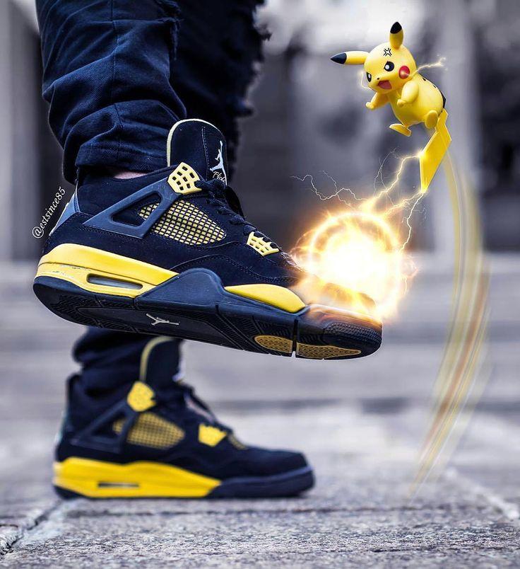 official photos 2e270 3f0ab ... Show us your best on-feet photos with JordansDaily estsince85 Click  link air jordan 1 premium essentials on feet nike jordan with pikachu ...