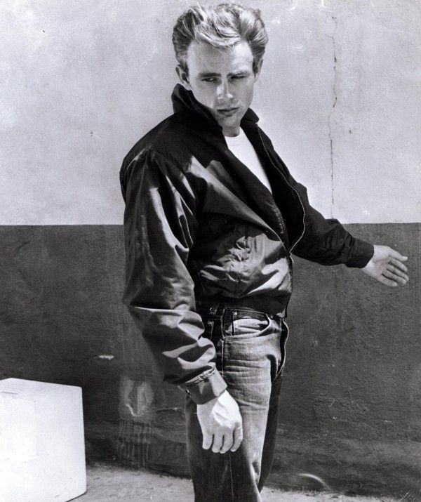 James Dean in Levi's iconic #501s