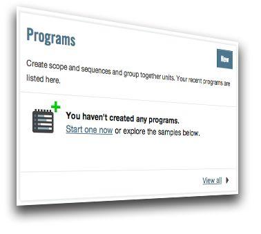 Program directly online
