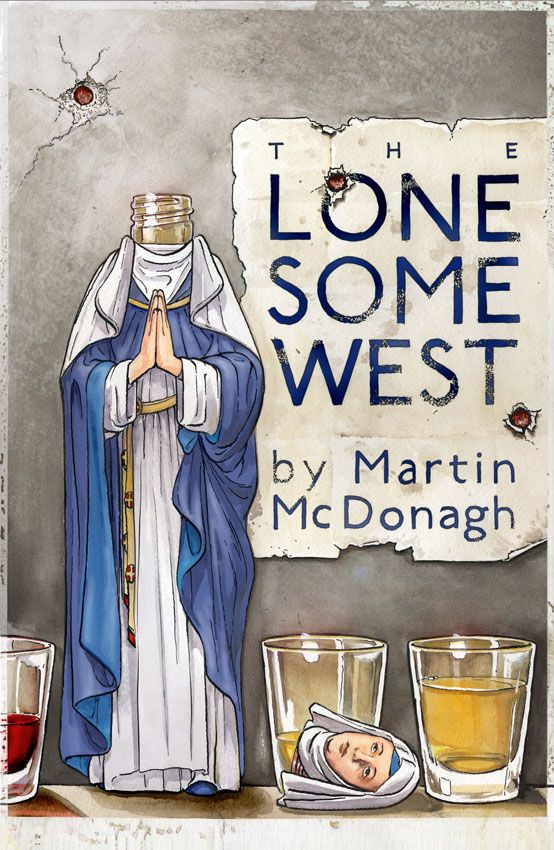 Theatre poster of the week, Lonesome West by Martin McDonagh. No Shame Theatre post of the week. Ringer Cast Performer – A young woman unafraid to take the bull by the horns. Ringer – A young man w…