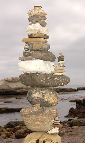 Shell Beach Rock Sculpture by robbishopphotography, via Flickr