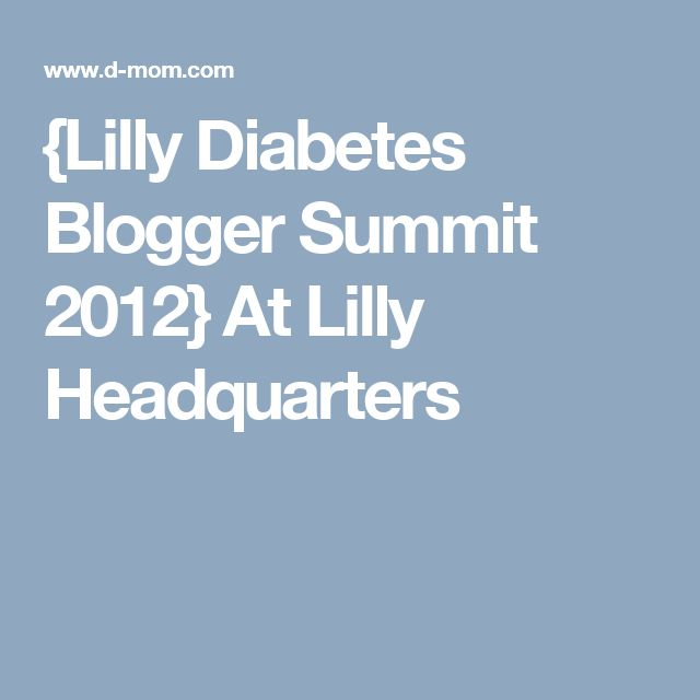 {Lilly Diabetes Blogger Summit 2012} At Lilly Headquarters