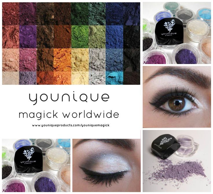 Colour Your World  32 Moodstruck Mineral Pigment Powders  32 Shades of You. All natural and easy to apply wet or dry. $13 each or 3 for $45 order from www.youniqueproducts.com/magicmakeup