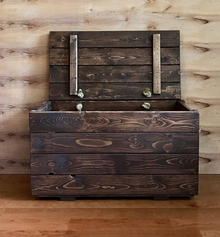 Childrens Jumbo Bedroom Room Tidy Toy Storage Chest Box Trunk: 25+ Unique Wooden Toy Boxes Ideas On Pinterest