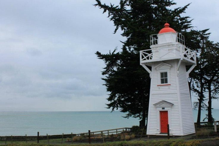 Timaru Harbour Lighthouse, Timaru  (First light 1878)