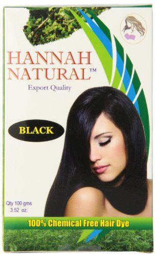 Hannah Natural's herbal hair dyes are 100% natural and chemical free. Switch to our all natural product and see and feel the difference. Contains more than 10 natural herbs such as indigo henna amla...