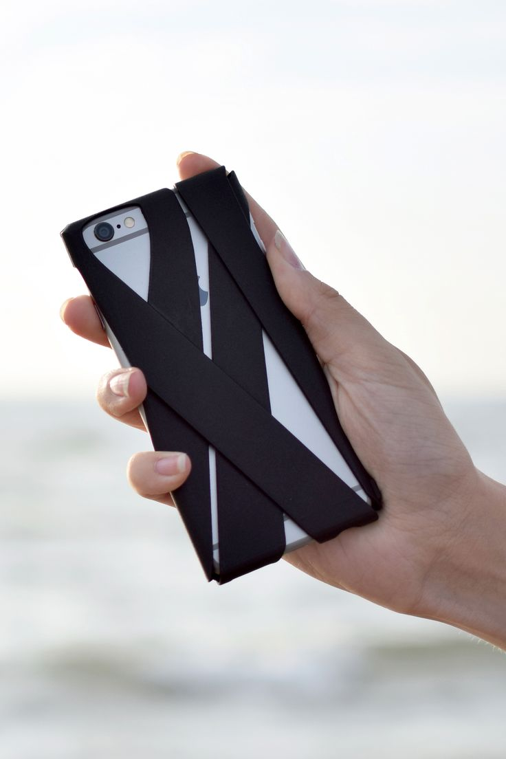 Freshfiber Wrap Case in Graphite Black for iPhone 6s | From Freshfiber.com