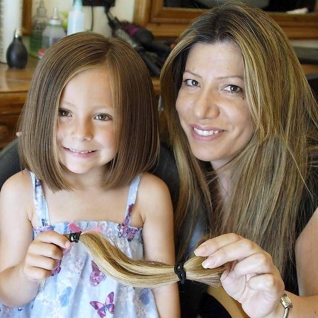 little girls bob haircut - shortest (ideally longer)