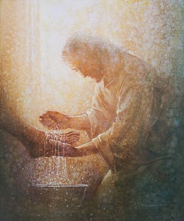 Providing an example of humility and service for His disciples by washing their feet, the Savior taught that we are to love one another as He loves us and that our happiness is contingent upon our service to others. http://facebook.com/173301249409767 What will you do today to strengthen your faith in Christ and follow His teachings by serving others?