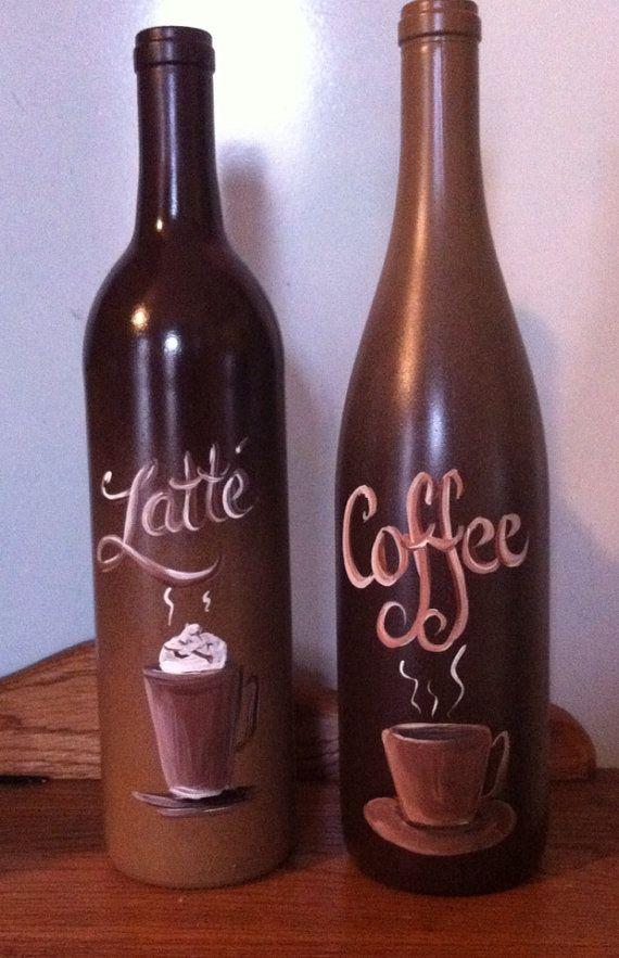 Coffee Wine bottles