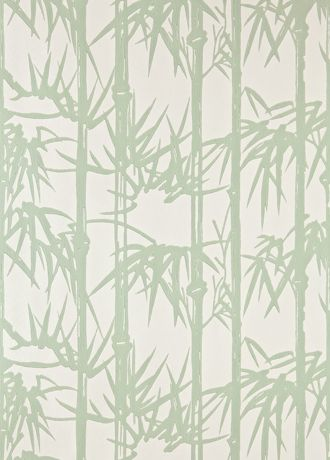 Bamboo wallpaper from Farrow and Ball