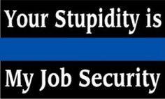 Police Stickers, Thin Blue Line, Brotherhood