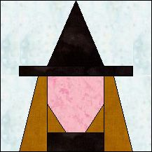Block of the Day for October 25, 2015 - Witch