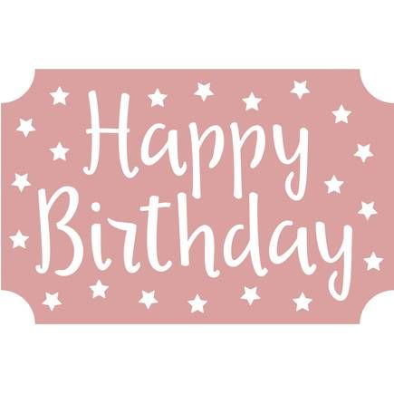 Intricut Happy Birthday Die