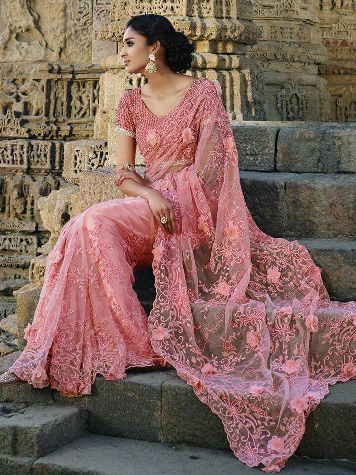 Mejores 111 imágenes de SARI en Pinterest | Alta costura, Moda india ...
