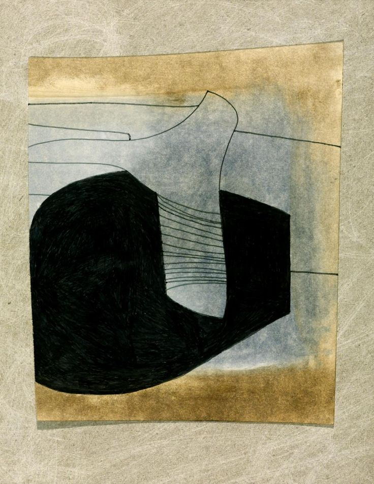 '78 (16 strings)' by Ben Nicholson OM, 1978