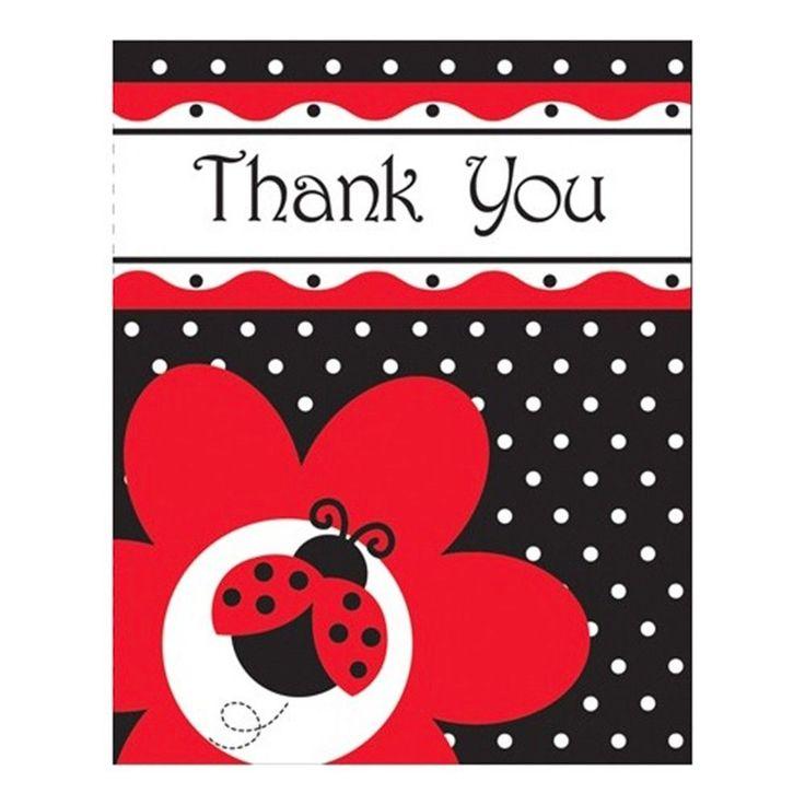 best ladybug party supplies images on   ladybug party, Baby shower invitation