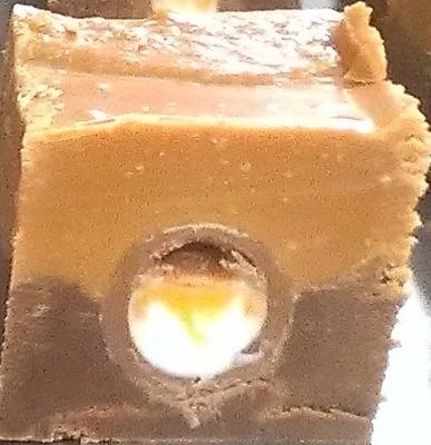Cream Egg Fudge  - oh yes we really do!!
