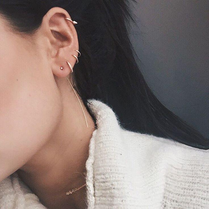 "by Danielle auf Instagram: ""new piece | thanks @monicarosestyle #mrxsc earring"""