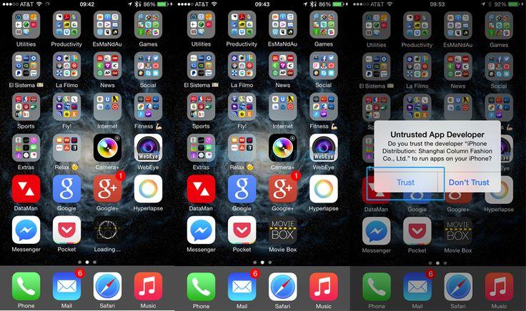 """Como instalar Moviebox en iOS 8 sin Jailbreak para ver películas """"gratis"""" - http://www.esmandau.com/164296/como-instalar-moviebox-en-ios-8-sin-jailbreak-para-ver-peliculas-gratis/"""