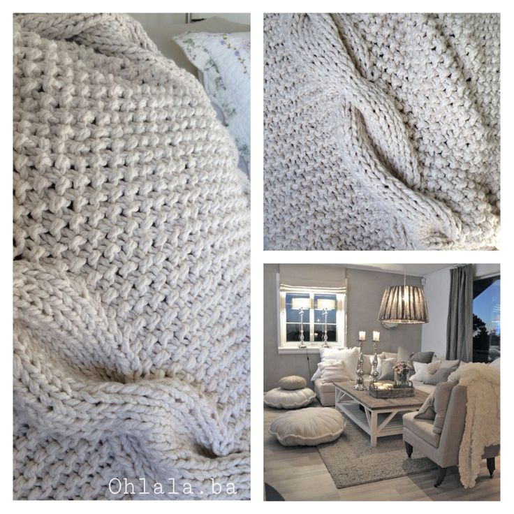 Presentamos mas de esta Colección Otoño ... Manta tejida con diseño, ideal para sillones, pie de cama o cualquier lugar que elija para decorar. #decohome #mantatejida #manta #natural #diseños únicos
