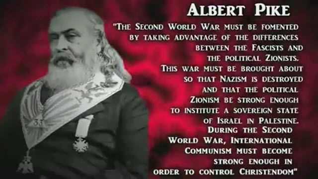 Albert Pike received a vision, which he described in a letter that he wrote to Mazzini, dated August 15, 1871. This letter graphically outlined plans for three world wars that were seen as necessary to bring about the One World Order, and we can marvel at how accurately it has predicted events that have already taken place.