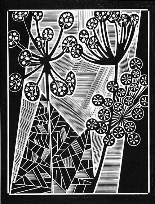 Dill - Relief-block print, The Alcorn Studio & Gallery