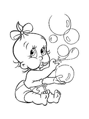 Babies coloring page 50