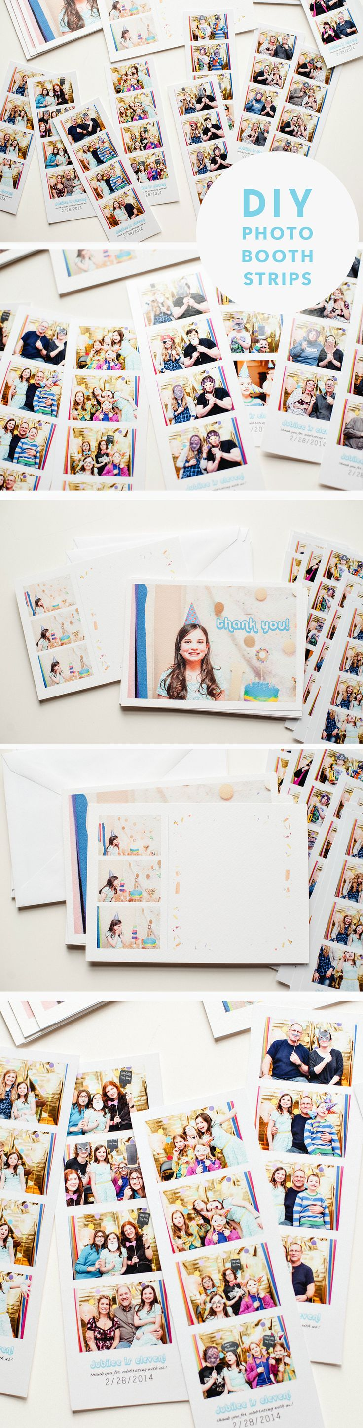 DIY Photo Booth Strips! Free Printable! www.jleeblog.com