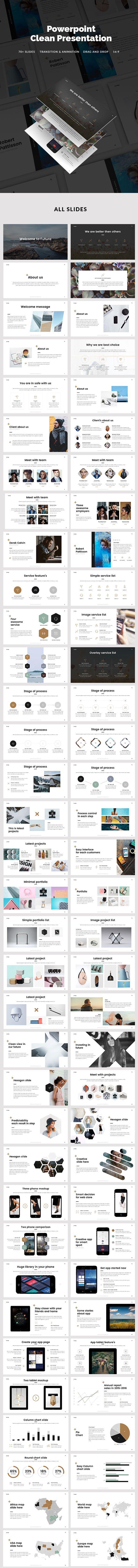 Minimal PowerPoint Presentation Template