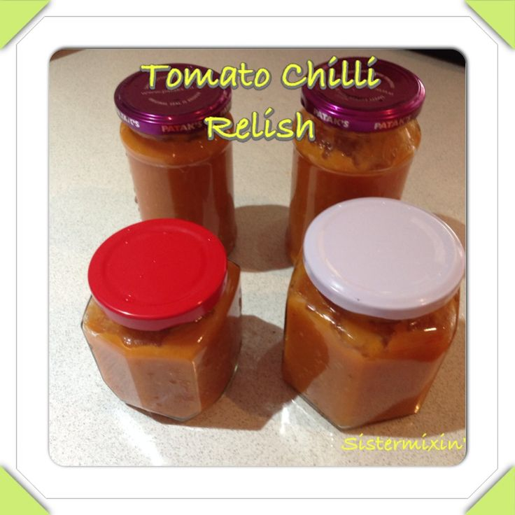 I have been growing tomatoes to make sauce but I didn't get enough so Iwanted to try something a little different. I had an old family recipe for plain tomato relish but I have jazzed it upto makethis little masterpiece. Hope you all enjoy it T Please note you will need at least 4 sterilised [...]