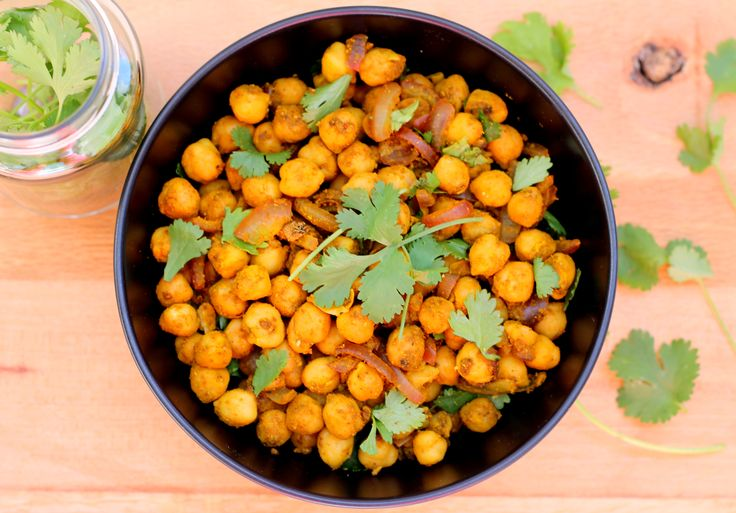 Curried Chickpeas #southafrica