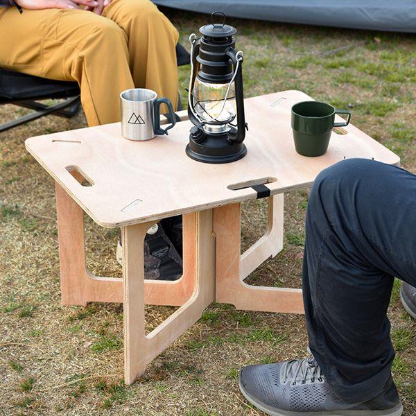 楽天市場 1年保証 アウトドアテーブル コンパクト Mサイズ 幅 60cm
