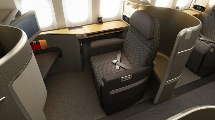 American Airline First class seat