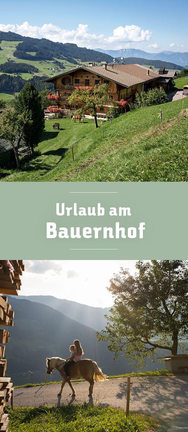 Die schönsten Bauernhöfe in den Alpen, Tirol in Österreich