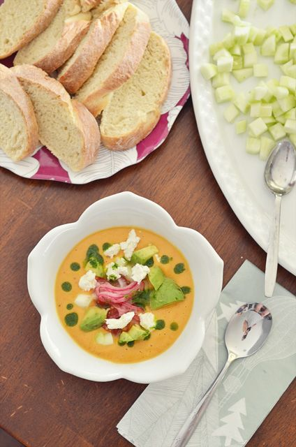 pickled onions oil tomatoes forward tomato gazpacho with pickled ...